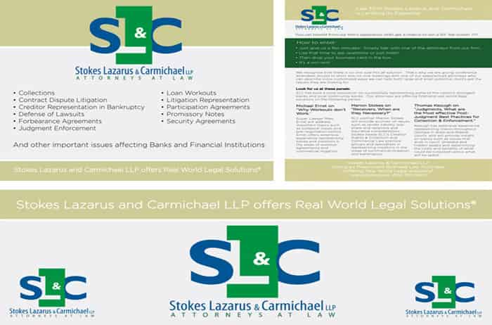 Tradeshow promotion for SLC LAW