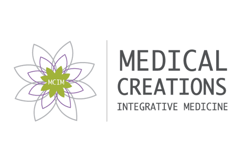 medical creations integrative medicine logo designmcim