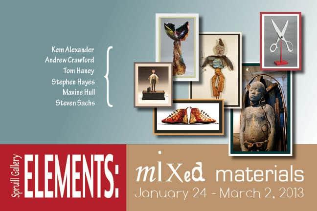 Postcard Design for exhibition Elements