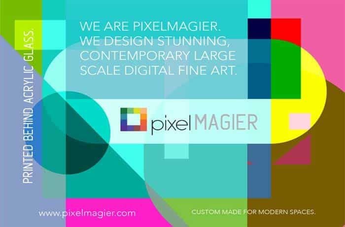Postcard design for pixelmagier