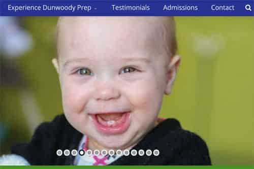 Dunwoody Prep advertising