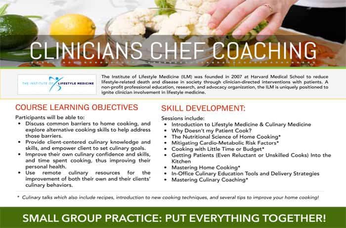 Harvard ILM Clinicians Chef Coaching
